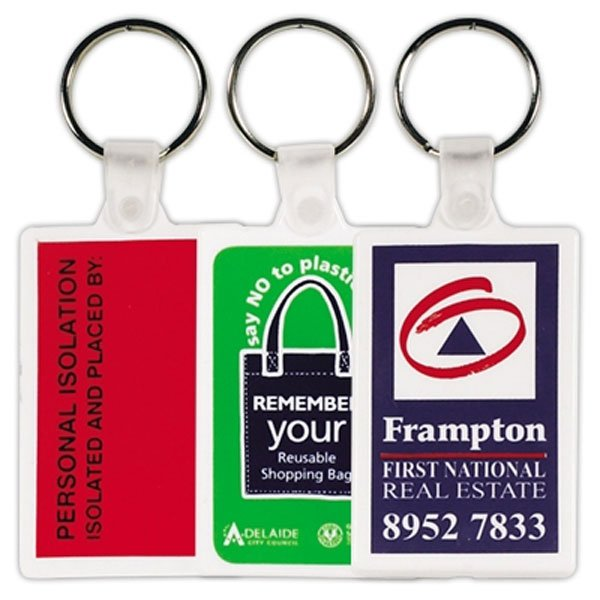 Rectangular Keyrings
