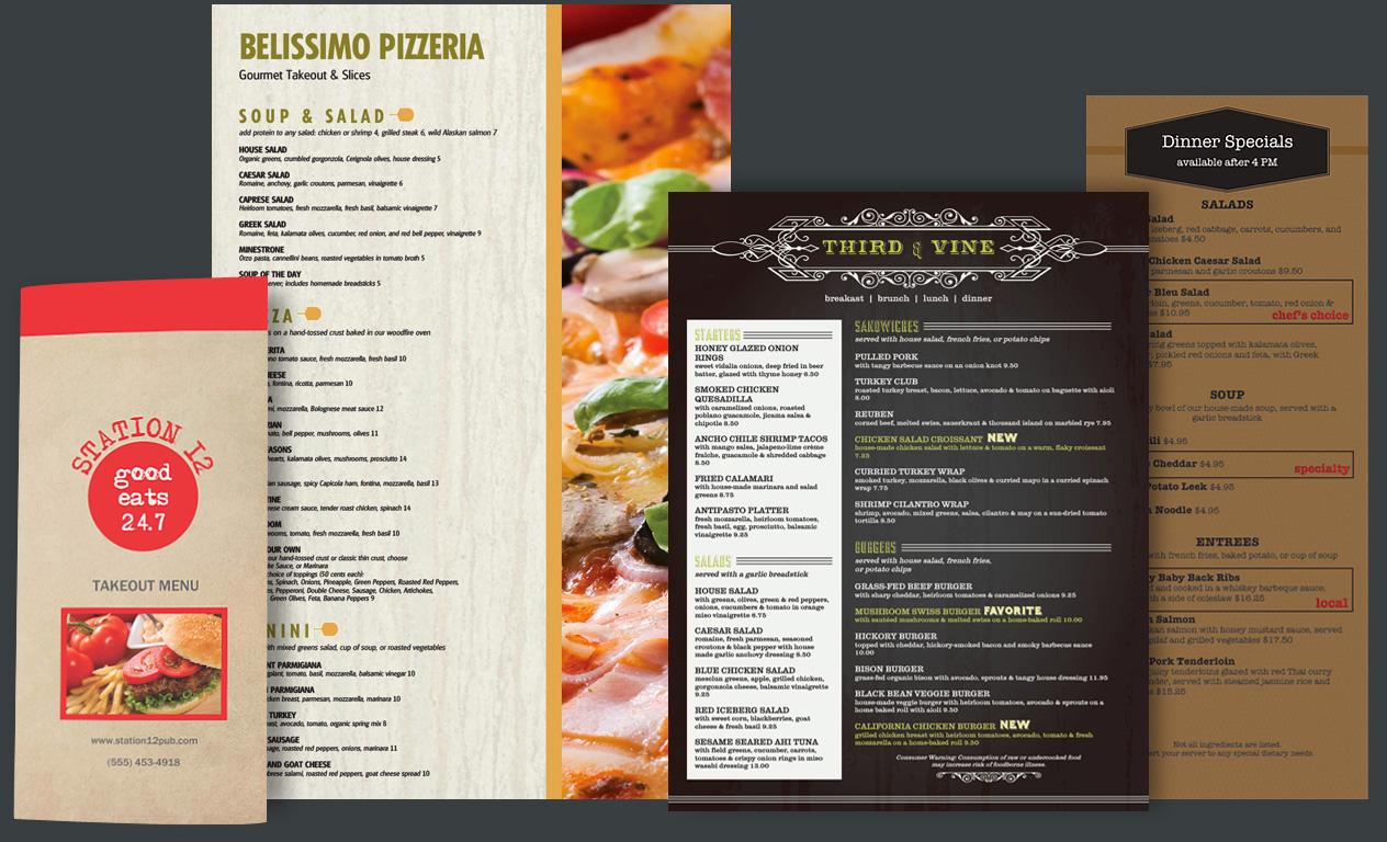 Restaurant Menu Printing Menu Printing Adelaide Print